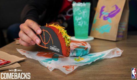Taco Bell Free Flamin' Hot Doritos Locos Tacos